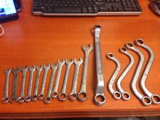 Drop Forged Set 16 Pieces Wrenches And Socket Combination Wrench