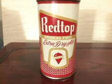 Redtop Ale (120-21) empty flat top beer can by Terre Haute, Terre Haute, In