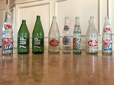 Collection 9 Centennial Soda Pop Bottles nice condition! 1976 100th Anniversary