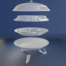 LOST IN SPACE JUPITER 2 6 inch diameter includes Upper & Lower Levels 3D Printed