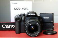 Canon EOS 1000D 10.0MP - Negro (Kit con lente EF-S 18-55mm)