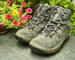 LOWA 🇩🇪 Trekking- / Bergstiefel, Gr.36 Leder GORETEX® VIBRAM® getr. NP:149 €