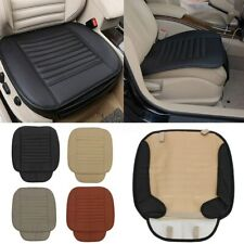 Car Full Surround PU Leather Seat Pad Soft Cushion Protect Cover Bamboo Charcoal