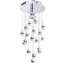 EGLO 95834 LUXY LED SINGLE LED PENDANT STAINLESS STEEL/POLISHED CHROME/CRYSTAL