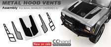 Metal Hood Vent ( Black A) for Axial XJ SCX10 II AX90046 / AX90047 Cherokee Body