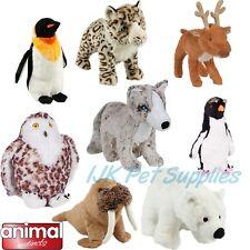 Animal Instincts Snow Mates Soft Plush Dog Puppy Play Plush Cuddle Toy Toys