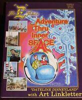 Disneyland E Ticket Magazine Adv. Thru Inner Space 2003 Walt Disney Bob Gurr