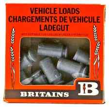 1:32 Britains Herald # 1740 - 8 Milk Churns - unpainted plastic - mint in box