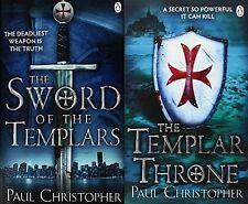 PAUL CHRISTOPHER __ 2 BOOK SET __ BRAND NEW ___  FREEPOST UK