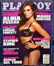 "Magazine PLAYBOY November 2009 ""ALINA PUSCAU"" ""KELLEY THOMPSON-CENTERFOLD"""