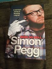 nerd do well simon pegg autobiography book 360 pages new