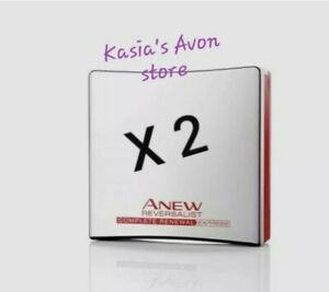 X 2 Avon Anew Reversalist Complete Renewal Express Wrinkle Smoother - Brand NEW