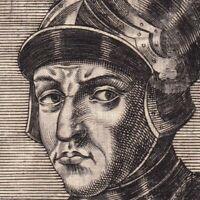 Portrait XVIIe Guillaume Le Conquérant William the Conqueror Guillaume II