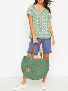 New Everyday Holiday Jersey Tee by WhiteStuff Pure cotton prise was £35.00