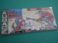 Collana AUDACE il Piccolo Ranger Striscia Fumetto  Anastatica  3°serie N 4 CU