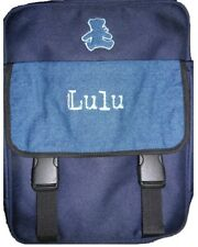 Cartable LULU CASTAGNETTE collection Lulu attitude couleur jeans