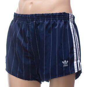 ADIDAS Glanz Nylon Vintage Shorts - Made in W.Germany - blau  Gr:7 (1488)