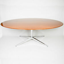 Vintage Florence Knoll 78 Inch Conference / Dining Table Teak Excellent Shape!