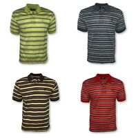 Men's Pique Polo Golf Shirt Standard Neck Classic Casual Uniform Fashion L-3XL
