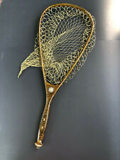 Vintage Collectable Hand Made Trout Fishing Landing Net R W Reinhold