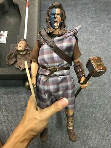 1/6 Kaustic Plastik William Wallace Scottish HighLander Braveheart Action Figure