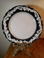 "Vintage Restaurant Ware WELLSVILLE China  9 3/4"" Dinner Plate MAJESTIC, USA"