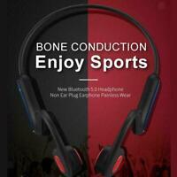 Bone Conduction Headset Bluetooth 5.0 Outdoor Sport Wireless Open-Ear S2L0