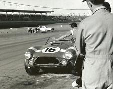 Vintage 8 X 10 1964 Daytona Continental Gurney / Johnson Shelby Cobra Pits