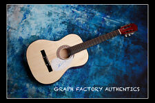 **GFA Wicked Musical Star *KRISTIN CHENOWETH* Signed Acoustic Guitar K2 COA**