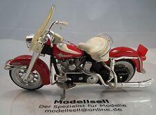 Harley Davidson Duo Glide FLH 1962  Motorradmodell von Maisto im Maßstab 1:18