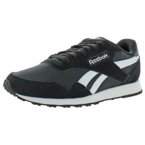 Reebok Womens Royal Ultra Black Suede Running Shoes 6.5 Medium (B,M) BHFO 4993