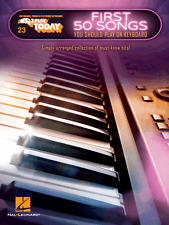 E-Z Play Today 23 - FIFTY SONGS Easy Keyboard Piano Music Book EZ Pop Rock Chart