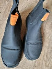 Black chunky boots size 7