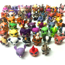 Hasbro Littlest Pet Shop Lot - Random 20PCS Cat Dog Animals Figure Toy Doll Gift