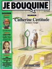 JE BOUQUINE Catherine Certitude MODIANO / SEMPE n° 88 Dossier Homère