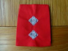Very Rare Red & Silver Police Inspector Epaulette Obsolete