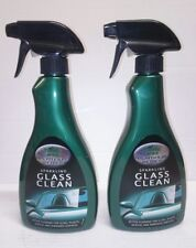 2 x Turtle Wax Platinum Series Sparkling Glass Clean 500ml Acrylic, Mirrors