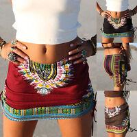 Summer Women Beach Bikini Cover up Swim Skirt Short Wrap Sarong Beachwear
