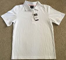 USPA White Uniform Polo For Girls In Size M/10-12 NWT