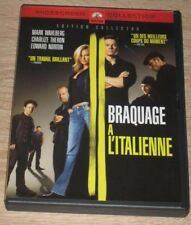 """DVD Film """"BRAQUAGE A L'ITALIENNE"""" Wahlberg, Theron, Norton, Statham, Bey, Green"""