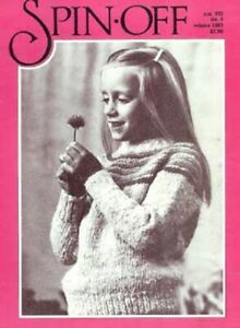Spin-off magazine winter 1983: spin worsted, wool-combing
