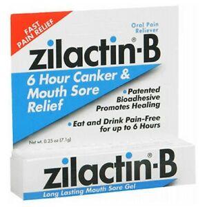 Blairex Zilactin-B Mouth Sore Gel 0.25 oz  by Zilactin