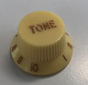 Tone Knob / Ton-Knopf Strat (Cream, New-Look)
