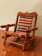 Wooden Cellphone mobile stand / mobile rack / toy chair