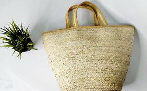 hand bag straw hand made Sea trips Beach women Made in Egypt