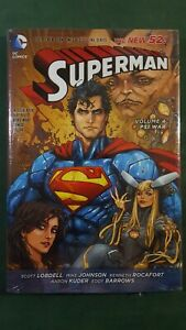 Superman New 52 Vol 4: Psi War Lobdell, Rocafort NEW Hard Cover GN HC