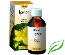 OLIO DI IPERICO OTTENUTO A FREDDO  ERBORISTERIA MAGENTINA 100 ML.