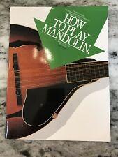 How To Play Mandolin!