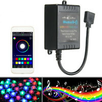 bluetooth Phone APP Controller Music Remote For 5050/3528 RGB LED Strip Light