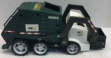 2005 (MATTEL) MATCHBOX , WASTE MANAGEMENT, GARBAGE TRUCK WITH SOUND -RARE